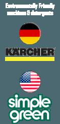 Karcher Simple Green and Kaercher footer BusyBees Dubai
